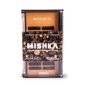 Miskha black lashes tray