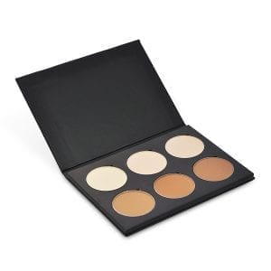Palette 6 fards Contouring