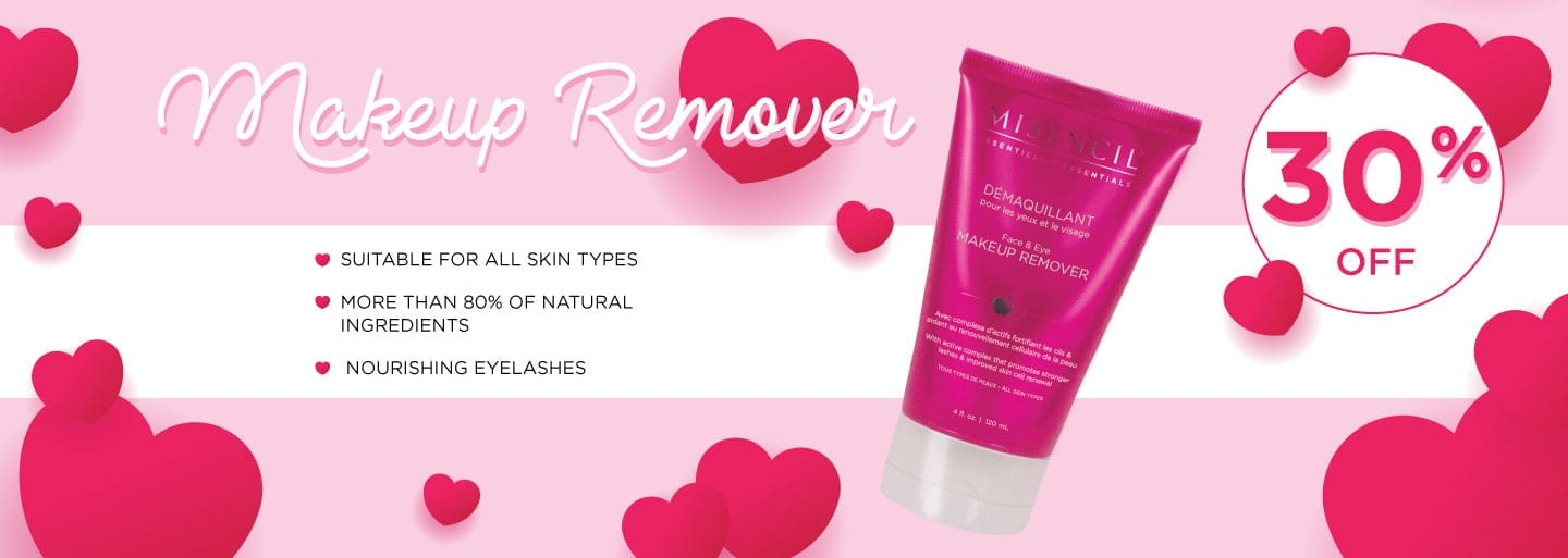 30% off Makeup remover from Misencil